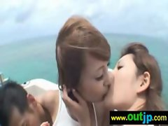 Asians Seductive japanese Models Get Nailed In Public vid-18