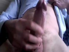 Fat dick at work