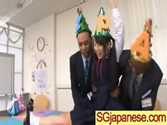 Sensual japanese Lassie In School Uniform Get Sex vid-17