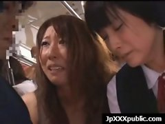 Attractive 18yo Sensual japanese dirty ladies Fuck In Public video-17