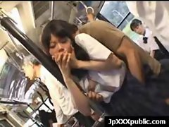 Attractive 18yo Seductive japanese dirty ladies Fuck In Public video-21