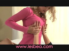 Lesbea Cougar seduces barely legal teen