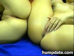 Two sensual lesbo randy chicks teasing