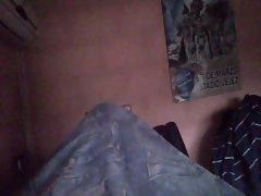 Paja en la cama