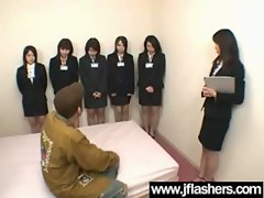 Asian Models Flashing Knockers And Getting Banged vid-31