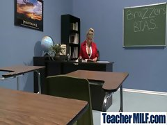 In Class Teachers and Students Get Wild Sex vid-16