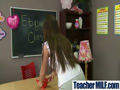 In Class Teachers and Students Get Brutal Sex vid-10
