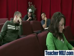 In Class Teachers and Students Get Brutal Sex vid-23