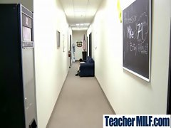 In Class Teachers and Students Get Rough Sex vid-11