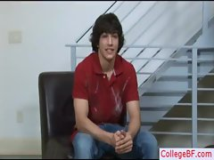Tempting college lad stripping by collegebf gays