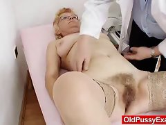 Furry vag gramma needs a cunt examination