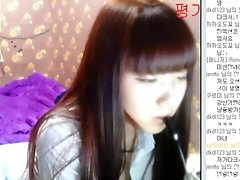 Seductive Korean Webcam Babe 1