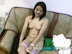 Thai barely legal teen amateur lass is creampied in short time room