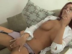 Smoking Fetish - Jayden smoking and masturbating
