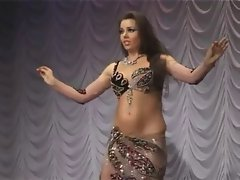 Alla Kushnir sexual belly Dance part 32