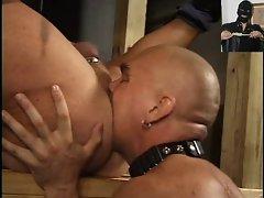 BDSM banging in sauna