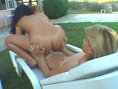 Brazilian slutty chicks Ellen Padila & Pamela