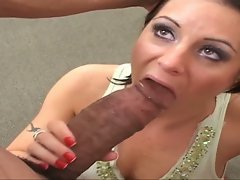 Arianna in 2 huge monster penises ass fuck and use stunning slu