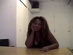 Audition #5 (18 y.o. Filthy ebony Big beautiful woman Teen)
