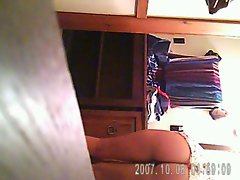 Sister caught on hidden cam 1