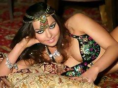 Alla Kushnir Luscious Belly Dancer Slideshow