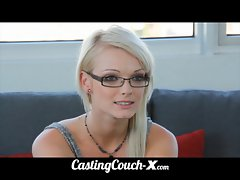 CastingCouch-X barely legal Oregon luscious teen trys porn