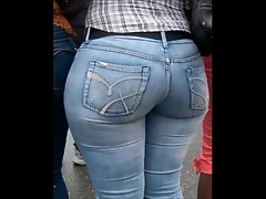 Cougar Experienced in stiff jeans big butt bum mamma phat naughty bum