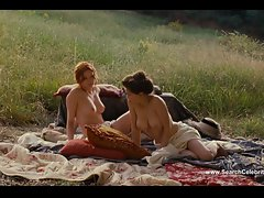 Christa Theret Nude in Full Frontal and Solene Rigot Topless
