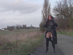 Alison Thighbootboy - Country Lane Wank