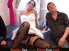 Le mari veut voir sa femme baiser avec un autre mec !