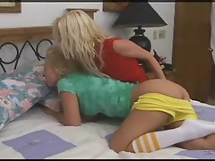 blonds lez butthole strapon sex