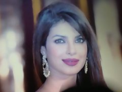 Lovely face of Priyanka Chopra cummed!!!