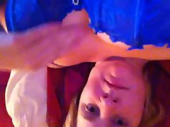 Irish blond nympho self videos