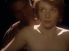 Gaunt White Young woman -Short clip