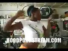 black hood ghetto sweet black teen dancing