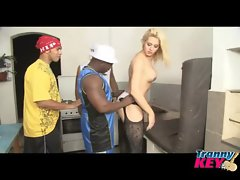 Hot Blonde Gets Dicked Down Hard ll