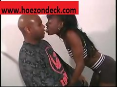 Mocha\&#039_s Pussy Gets Work Out By A Big Black Cock