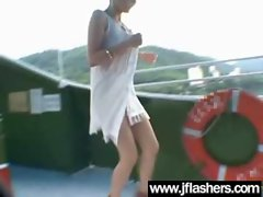 Asian Flashing And Banging Hard video-23