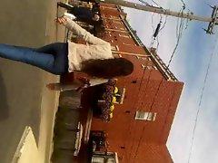 latina walking