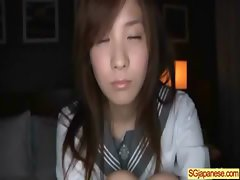 Asian In School Uniform Get Hard Sex video-24