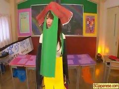 Asian In School Uniform Get Hard Sex video-14