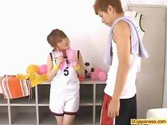 Asian In School Uniform Get Hard Sex video-20