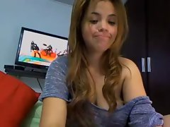 Rubia en Webcam