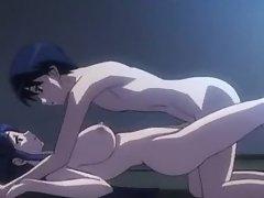 Cute anime girl loses virginity