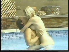 Alicyn Sterling makes out with this dick in the pool