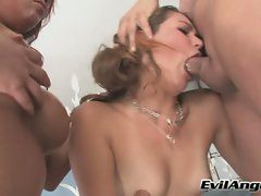 Allie Haze is a foxy innocent beauty who gets stuffed by a throbbing cock