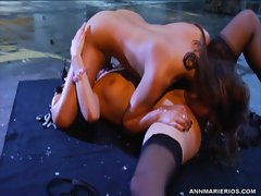 Whores Ann Marie & Samantha Ryan both lick piss flaps
