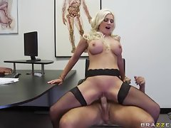 Brittany Andrews doctor bait the hard long cock hook