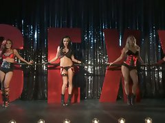 Alektra Blue and other hot girls perform sexy dnace