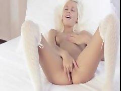blond love doggystyle masturbation